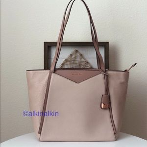 Michael Kors Whitney Leather Large Tote